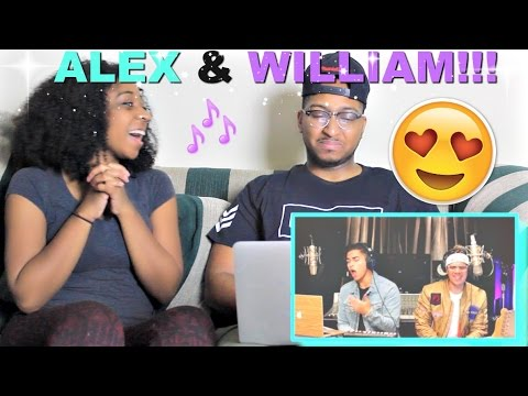 "Alex Aiono AND William Singe Mashup ""Black Beatles, Confessions, & No Problem"" Reaction!!!"