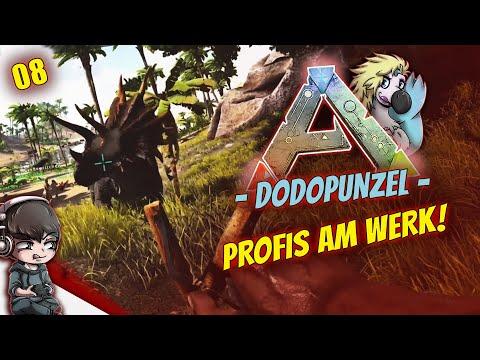 ARK DODOPUNZEL • Profis Bei Der Trike Zähmung! - Ark Survival Evolved PvP German Deutsch