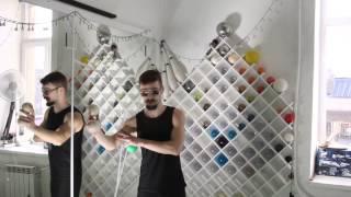 #44. Восьмерка (видео уроки по жонглированию от ПГ)
