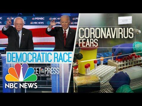 Meet The Press Broadcast (Full) - March 8, 2020    Meet The Press   NBC News