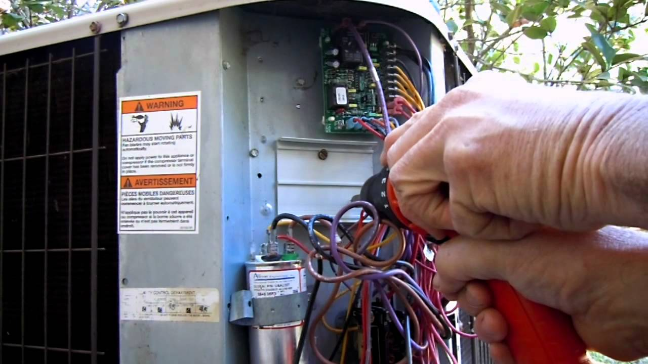air conditioner hard start kit wiring diagram [ 1280 x 720 Pixel ]
