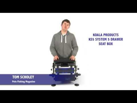 Koala Products KS5 System 5 Drawer Seat Box