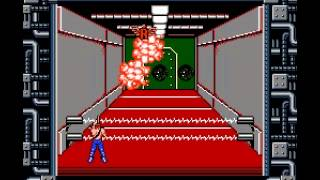 Contra - Nintendo NES - Stage 4 absolute domination! - User video