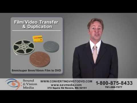 Convert VHS to DVD - Sound and Vision Media Revere, Massachusetts