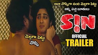 SIN Telugu Movie Official Trailer || Thiruveer || Deepti Sati || Jeniffer Piccinato || AHA || NSE