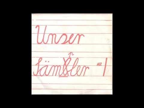 UNSER SÄMB̶PLER NO1 BREMEN SAMPLER NR 1 compilation LP, 1981