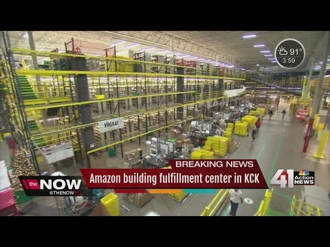 Amazon to open fulfillment center in Kansas City, Kansas