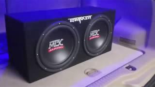 MTX TERMINATOR SUB/AMP SETUP