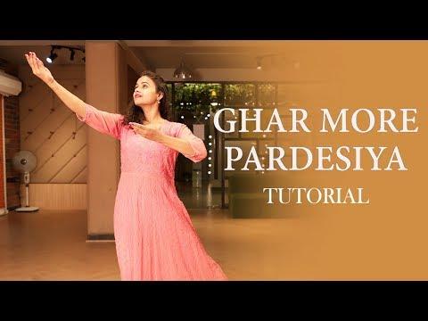 Ghar More Pardesiya |Kalank |Dance Tutorial |Aditi |Alia Bhat |Madhuri Dixit |Dancercise