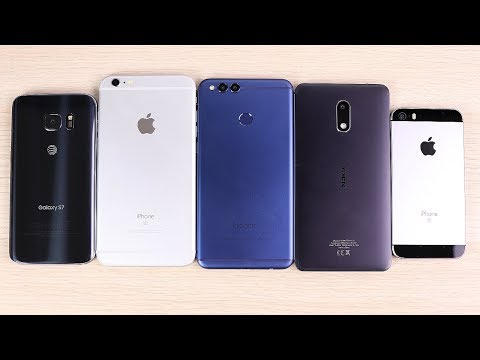 Budget Phone vs Old Flagship 2018