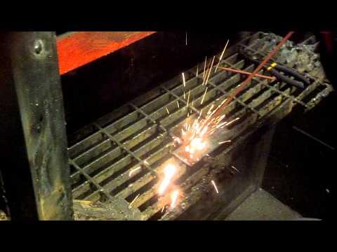 Stick Welding at BCIT