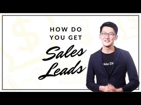 How Do You Get Sales Leads?