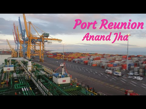 Port Reunion | Container Terminal | Reunion Island In Indian Ocean | Anand Jha