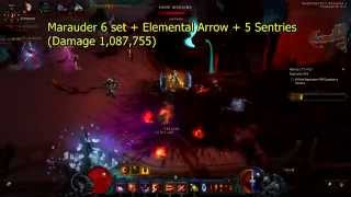 Diablo III Marauder vs Marauder + Natalya vs Unhallowed