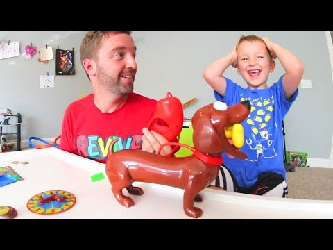 Father & Son PLAY DOGGIE DOO! / Poo Surprise!
