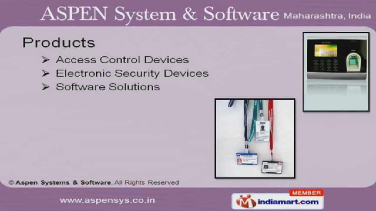 Access Control Devices by Aspen Systems & Software, Pune