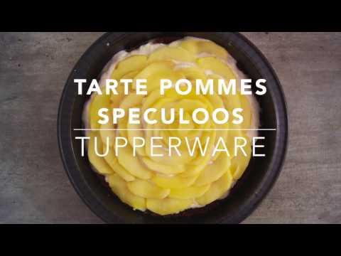 recette-tupperware-:-tarte-pommes-spéculoos