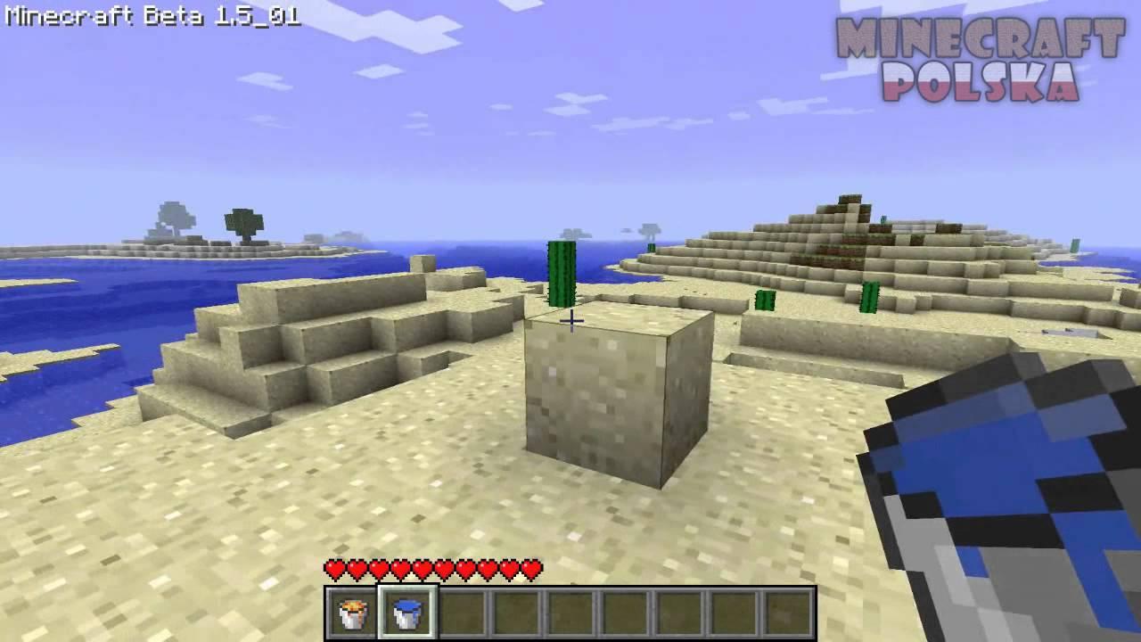 aad5c97fb Minecraft Poradnik - Jak zrobić klocek wody lub lawy - YouTube