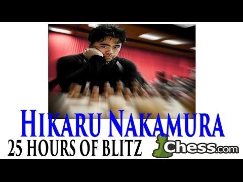 25 + Hours of Blitz Chess on Chess.com ★ Hikaru Nakamura ★The Longest Chess Video on YouTube
