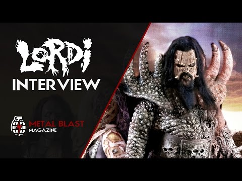 An Interview with Lordi: Blood, Guts and Butts