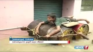 கனமழையால் மூழ்கி வரும் வீடுகள்  spl hot tamil video news 02-12-2015
