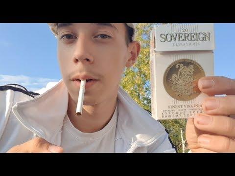 Обзор сигарет Sovereign Ultra Lights (Россия)