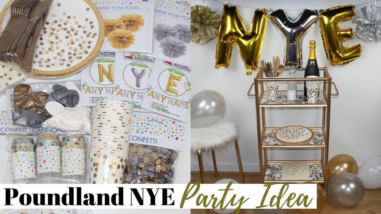Poundland Diy Nye Party Decorations Idea Easy And