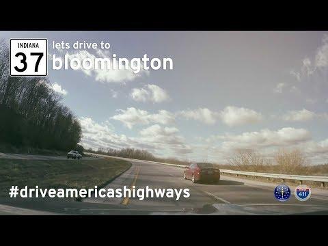 Indiana Highway 37 - Indianapolis - Bloomington   Drive America's Highways 🚙