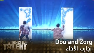 Arabs Got Talent -Dou and Zorg- عرض النصف نهائي...