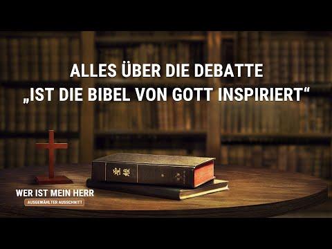 """Alles über die Debatte """"Ist die Bibel von Gott inspiriert"""""""