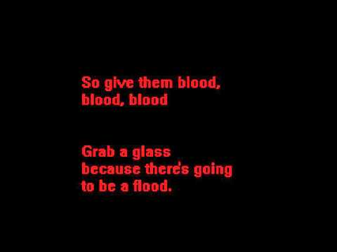 Blood My Chemical Romance lyrics