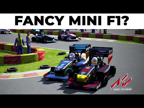 When mini is MEGA | How Good is the MAD Formula Team Mod for Assetto Corsa in Singleplayer? |