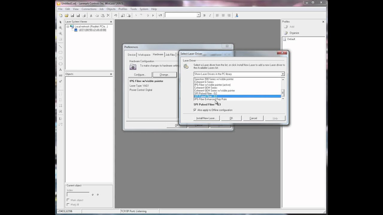 How-to Videos for Using WinLase Software | Lanmark Controls