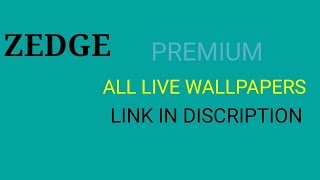 HOW TO DOWNLOAD ZEDGE PREMIUM MOD APK link in description premium apk screenshot 5
