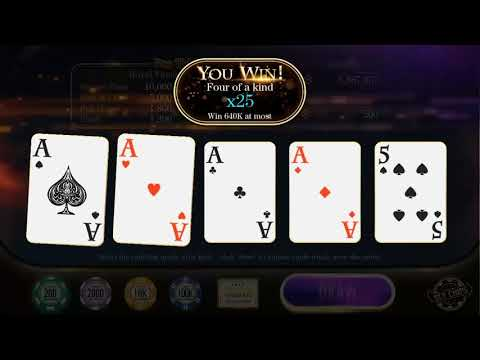 Video Poker Online-Be Billionaire For Free!
