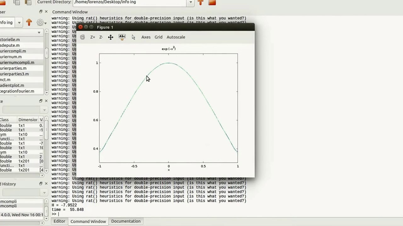 MATLAB - Fourier series with numerical integration - Part 3
