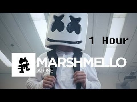 Marshmello I Alone 1 Hour [Official Monstercat Music Video]