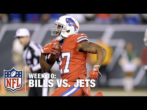 Duke Williams Recovers Kickoff Fumble, Returns for TD! | Bills vs. Jets | NFL