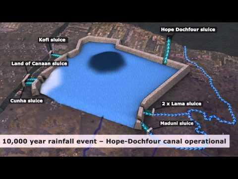 Improving Flood Resilience Along Guyana's Coast