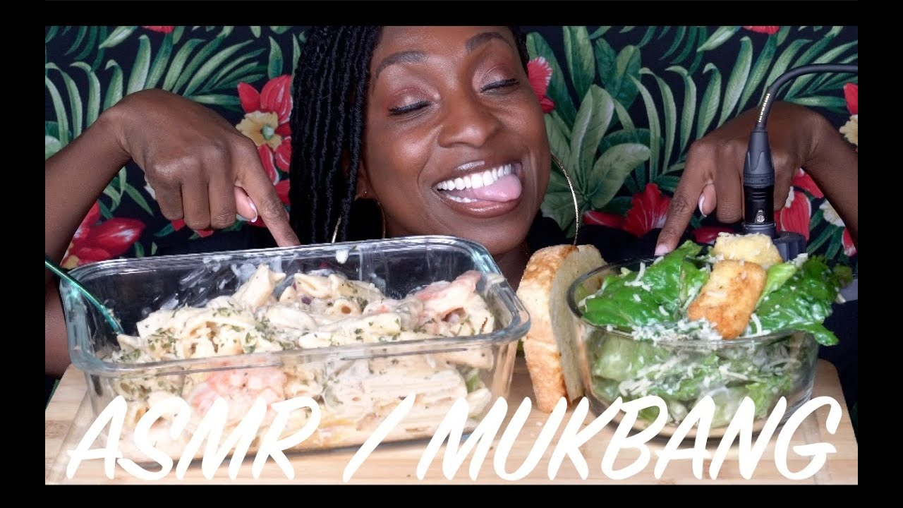 THIS IS EXACTLY WHY I DON'T EAT PASTA..!!!  🤢  (MUKBANG)