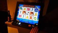 Casinoautomat in der KNEIPE auf 2€ penetriert - 2 Letzten Videos davon Folgen - Jackpot am Novo
