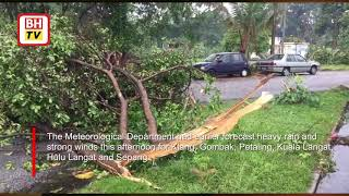 Storm havoc in Klang Valley