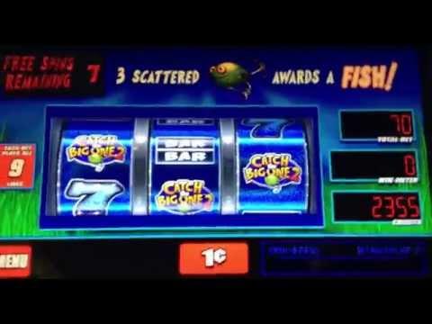 Wms reel 39 em em in catch the big one 2 3 bonuses doovi for Reel em in fishing slot machine