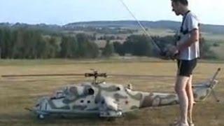 É de arrepiar!Voo do maior helicóptero turbinado radiocontrolado do mundo-linda apresentação