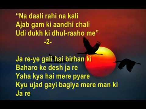 Ja re ja re ud ja re panchhi - Maya - Full Karaoke