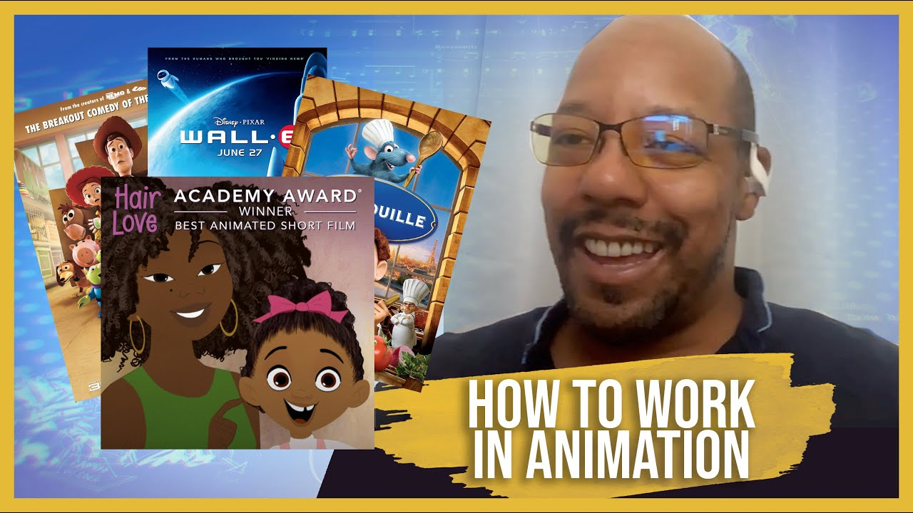 How to Work in Animation with Co-Director of Academy Award-Winning Animated Short, Hair Love