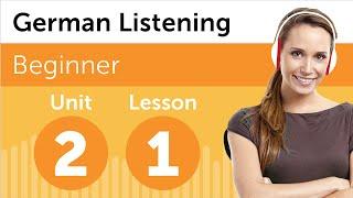 German Listening Practice - Getting German Directions