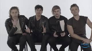 5 Seconds Of Summer Facebook Live with Amazon Music UK