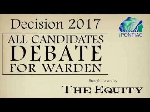 The Equity's All Candidates Debate for Warden: condensed version
