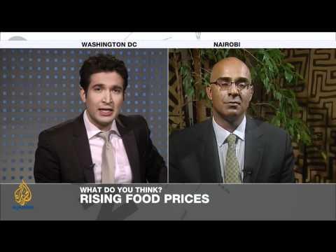 Riz Khan - Fearing a food crisis